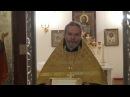 Проповедь отца Игоря Лысенко 14 января 2018 г.