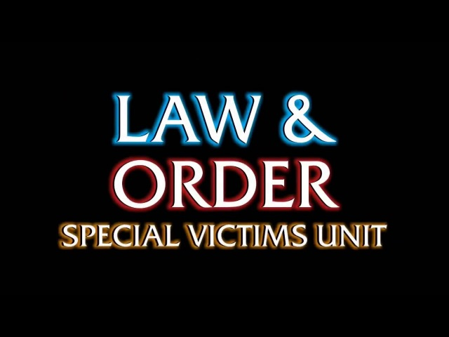 Law Order - Special Victims Unit - DUN DUN - HD - Meme Source