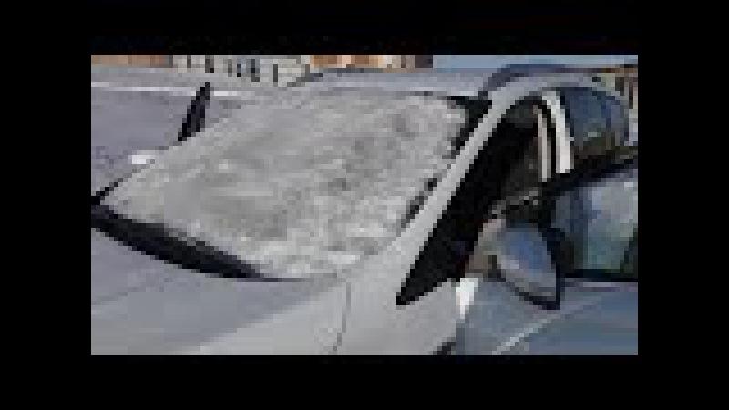 Работа обогрева лобового стекла Ford Kuga 2017