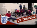 Goalkeeper Training: long-range strikes with Hart, Pickford, Forster Butland | Inside Training