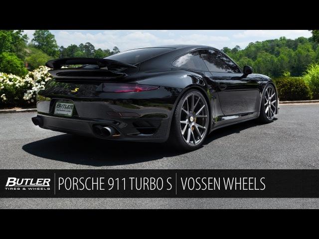Porsche 911 Turbo S   Vossen Forged VPS-306 Wheels   Butler Tire
