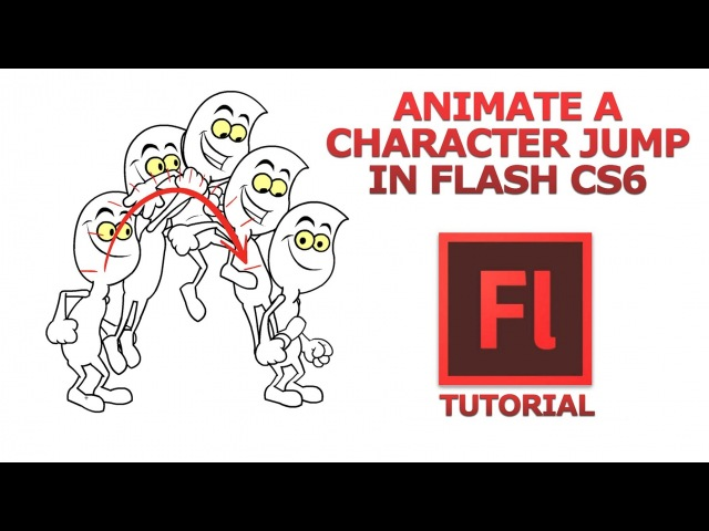 Animate Like a PRO! Character Jump in Flash CS6