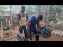 Как живут и тренируются африканские бодибилдеры