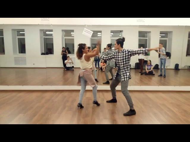 Felipe Garcia and Erica Tintel - Unknown music demo (Anthony Hamilton - Mad)