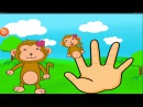 Семья пальчиков Finger Family.Семья пальчиков обезьянок!