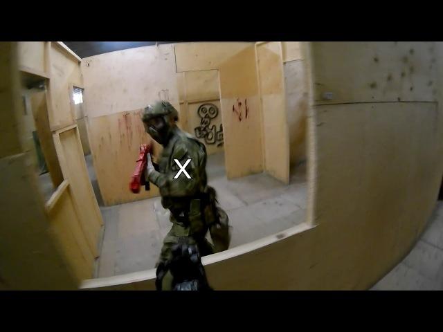 Gamer TDM 3V3 12.02.18 [Airsoft gameplay]