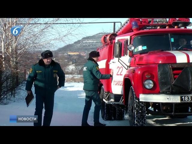 В целях предупреждения пожаров и гибели на них сотрудники Государственного пожарно спасательного отряда г Горловка МЧС ДНР провели профилактический рейд в жилых секторах города