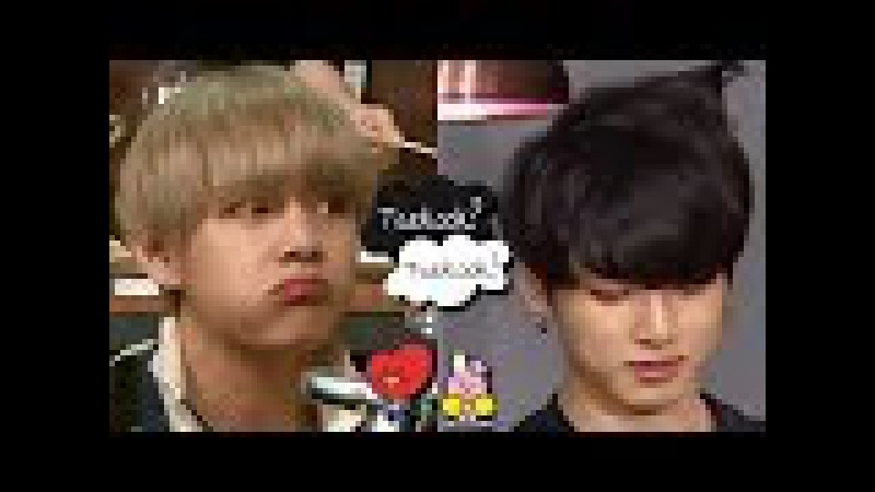 BTS - V And JungKook Loves to Touch Each Other´s Hair (VKook Moments)