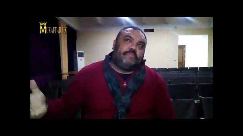 Турон театр студиясининг режиссёри, маҳоратли актёр - Сайфиддин Мелиев билан с ...
