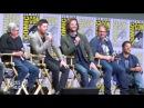 SDCC 2017 Misha's favorite prop is Dean,Jensen's is the angel blade