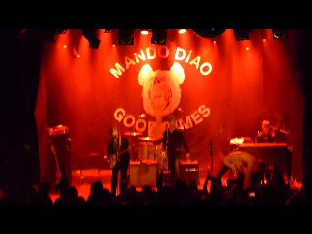 You Got Nothing On Me - Mando DIao @ Tavastia-klubi Helsinki 25.10.2017