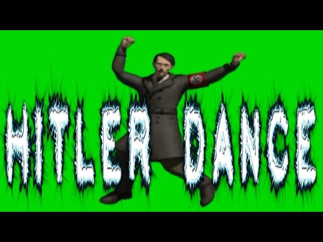 GREEN SCREEN CHROMA KEY HITLER DANCE - yda4aTV - ФУТАЖ ХРОМАКЕЙ ГИТЛЕР ТАНЦУЕТ