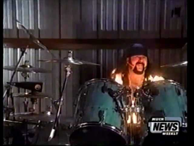 Pantera - Vinnie Paul Talks About Reinventing The Steel Pyro Show on Much Music News