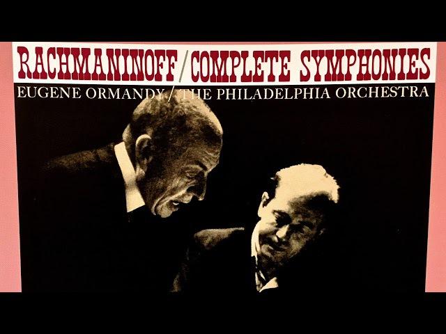 Rachmaninov - Vocalise/Symphonies n°2,3,1... (Century's recording : Eugene Ormandy/Entremont)