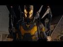 Человек-муравей против желтого шершня Бой в вертолете и в кейсе Человек-муравей 2015