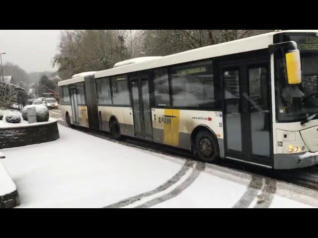 Plaatselijke garagist sleept bussen van De Lijn