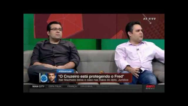 O CRUZEIRO ASSUMIU A MULTA TEM QUE PAGAR ALEXANDRE KALIL SE POSICIONA NO CASO FRED