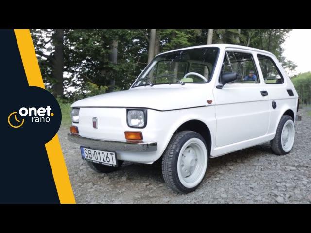 Historia Fiata 126p dla Toma Hanksa - rozmowa z Rafałem Sonikiem | OnetRano