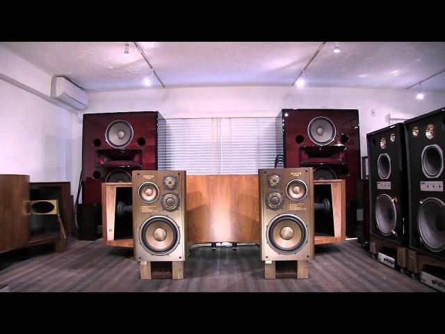 DIATONE DS-3000 4 way speakers in Kenrick Sound showroom 1