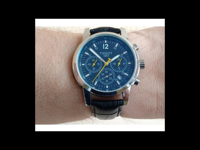 Часы Tissot T 017 PRC200 Кварцевый Хронограф