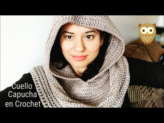 Capucha Elegante a Crochet (ganchillo)