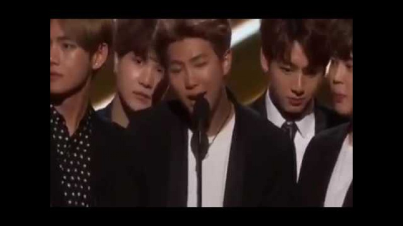 BTS Win Top Social Artist At The 2017 Billboard Music Awards 170522