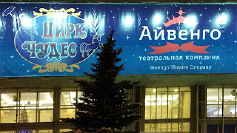 Цирке чудес Айвенго. Волшебный подарок Деда Мороза. 31 декабря 2016.