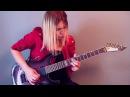 Arch Enemy The Eagle Flies Alone guitar by Alex Schmeia