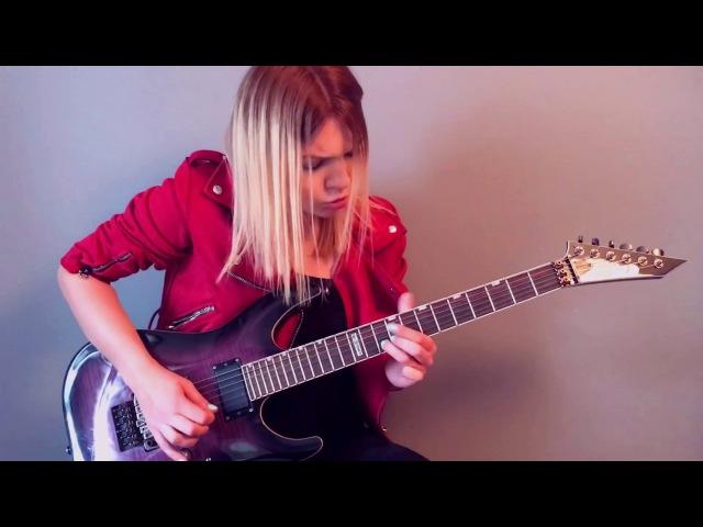 Arch Enemy - The Eagle Flies Alone guitar by Alex Schmeia