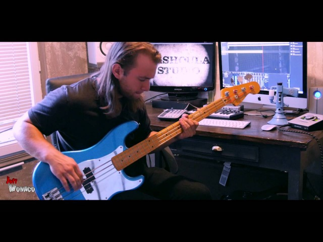 Iron Maiden - The Number Of The Beast Bass Cover