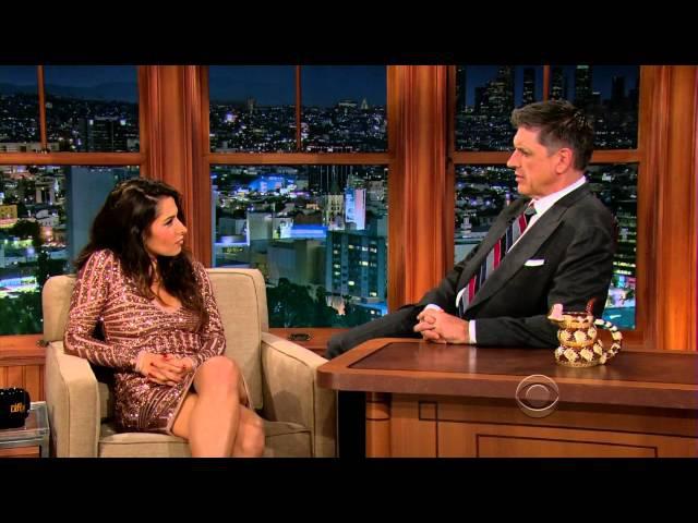 The Late Late Show with Craig Ferguson 12 11 5 Sarah Shahi