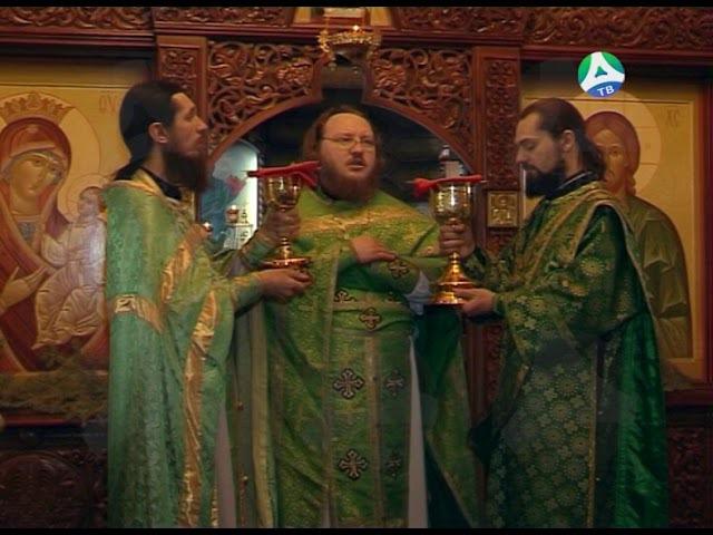 16 01 2018 Божественная литургия в день памяти Святого Серафима Саровского