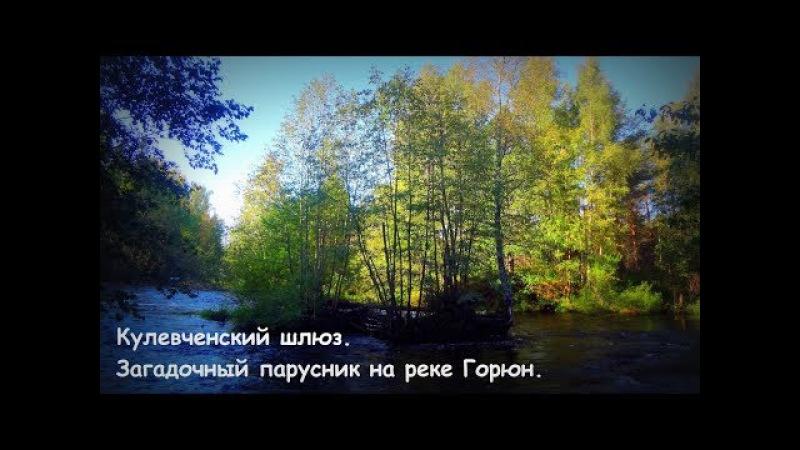Черная Жемчужина на реке Горюн Кулевченский шлюз