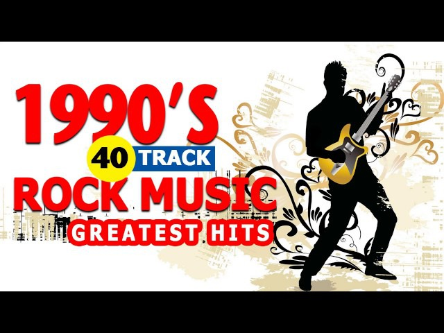 Best 90s Classic Rock Songs - Greatest 90s Rock Music Hits - Top Alternative Rock 1990s
