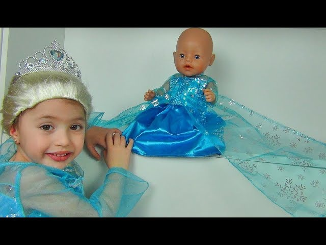 Princess Dominika and Dresses for my Doll Are you sleeping song Nursery Rhymes Songs for kids