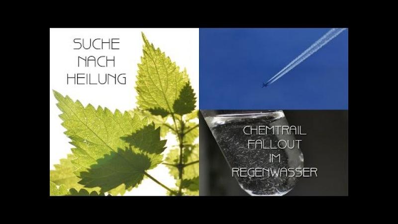 Chemtrail-Fallout im Regenwasser - Ursachen und Heilungsansätze