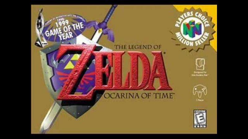 Zelda: Ocarina of Time - Hyrule Field / Top 10 N64 Music - 3
