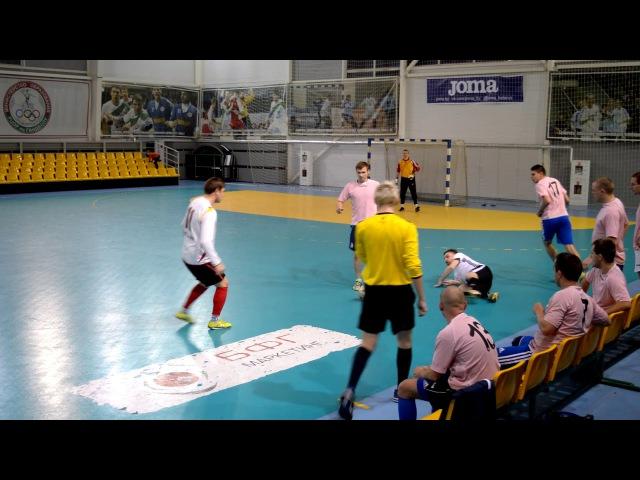 Ветра-08 4 - 7 Дубль. DKC чемпионат по мини-футболу 2017/2018. 1-й тур (19.11.2017)