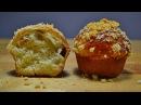 Воздушные БУЛОЧКИ - КЕКСЫ с Изюмом и Клюквой   Air Buns-Cupcakes with Raisins and Cranberrie