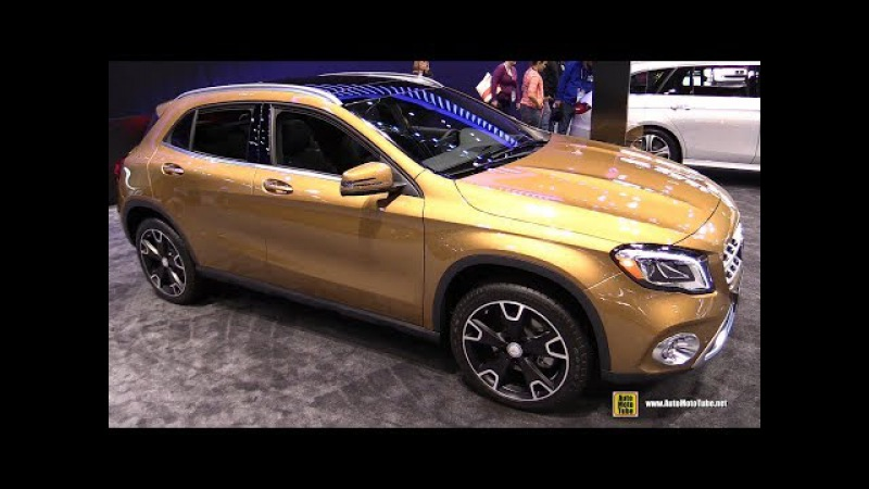 2018 Mercedes GLA250 4matic - Exterior and Interior Walkaround - 2017 Chicago Auto Show