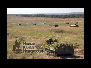 НКН. НМ ЛНР провела батальонные тактические учения