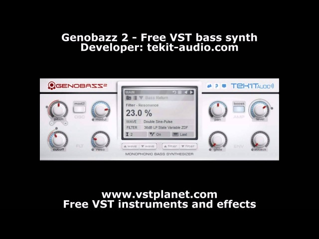 Tek'it Audio - Genobazz 2 [WiN x86] [Free] :: Бесплатный синтезатор баса