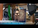 Bravo Models Media - Prague - photo shoots backstages - porn model FLORANE RUSSEL - 02