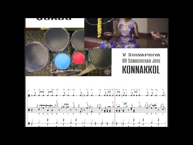 Konnakkol Quads Transcription