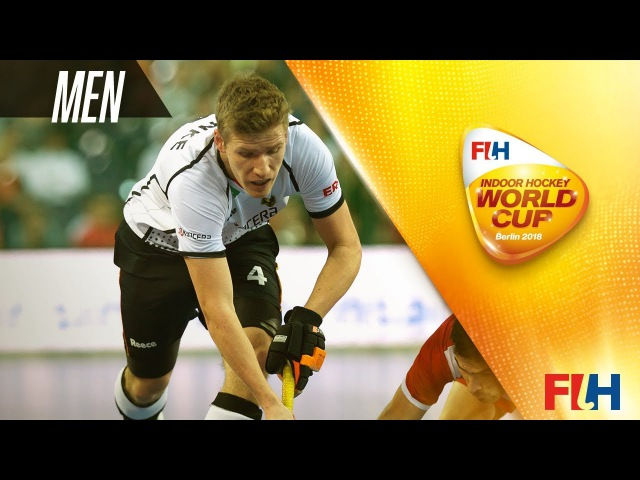 Poland v Germany - Indoor Hockey World Cup - Men's Pool A