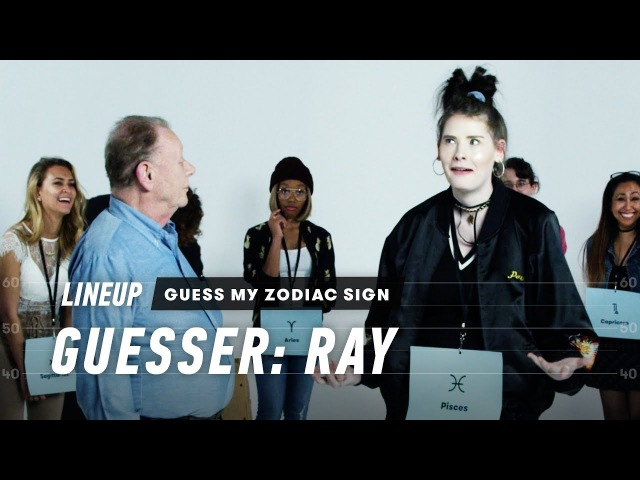 An Astrologer Guesses Strangers Zodiac Sign (Ray) | Lineup | Cut