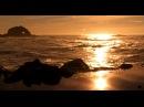 Zen Ocean of Bliss Golden California Coast No Music Wave Sounds Only Mindfulness Relaxation