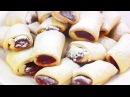 Печенье МИНУТКА с повидлом на сметане Видео рецепт