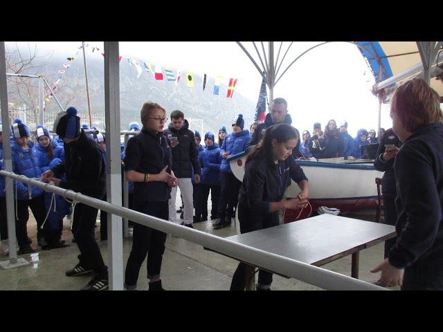 Юнги Хрустального, этап такелаж, в соревнованиях 15 смены 2017 года