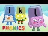 Phonics - Learn to Read  Letters J, K, L  Alphablocks